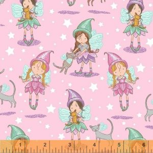 flannel fabric fairy