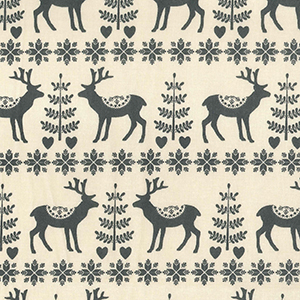 scandi grey reindeers