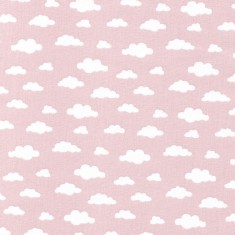pink clouds fabric