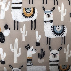 llamas softshell fabric