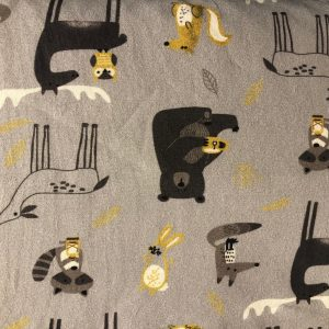wild forest animals jersey