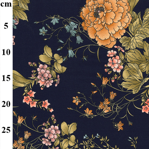 georgette floral fabric