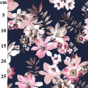 peachskin floral fabric