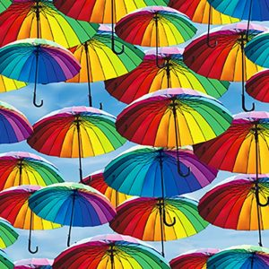 rainbow umbrella little johnny cotton