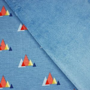 blue triangle alpine fleece