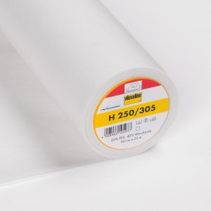 250 305 white interfacing