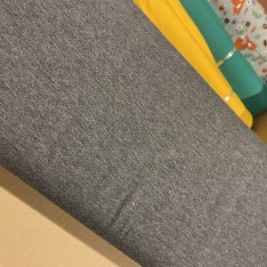 plain grey jersey fabric