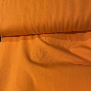 plain orange jersey fabric